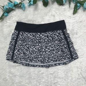 Lululemon Black and White Sport Skirt